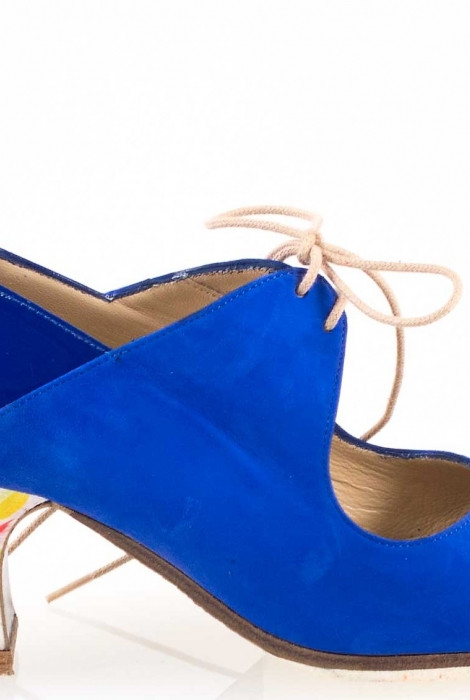 Shoes Arty azul trumpets